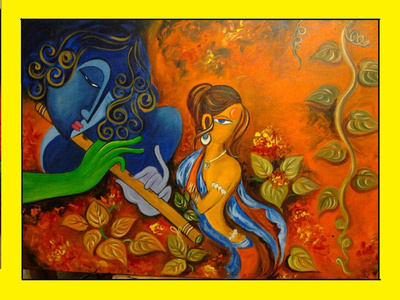 Painting by Snigdha Moitra