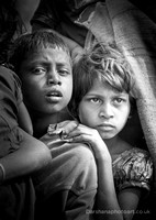 Black & White Portraits - Children